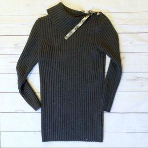 Burberry London gray sweater